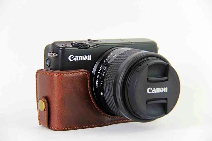Cámara Negra caso bolsa bolsa para CANON EOS M10 M3 M6