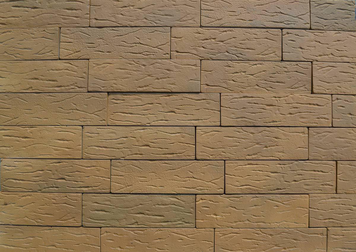 18 Bricks 2 Pieces lot Plastic Molds ANTIQUE BRICK VENEER for Concrete Plaster Wall Brick Tiles