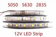 DC 12V RGB Led Strip 5050 5630 2835 SMD Non Waterproof 5M 60Led M Led Stripe