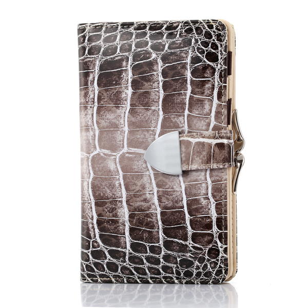 Luxury Elegant Wallets Serpentine Women Wallet Bright Long Hasp Clutch Purse Carteira Feminina Enamel Leather Card Holders