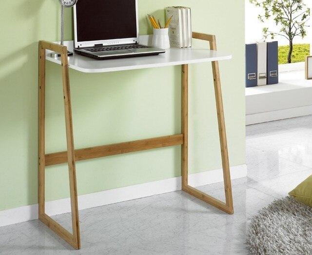 Residentiële hout laptop bureau kantoormeubilair minimalistische