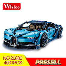 2018 Новый Lepin 20086 Technic Series Bugatti Supercar Building Blocks Bricks Toys LegoINGlys 4031psc для детей Рождественский подарок