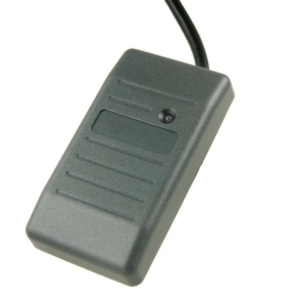 Mini 13.56mhz WG26/34 Waterproof RFID IC Reader For Door Access Control System