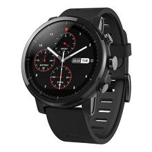 цена на English Version Huami Amazfit Stratos Smart Sports Watch 2 GPS 5ATM Water 1.34'' 2.5D Screen GPS Firstbeat Swimming Smartwatch