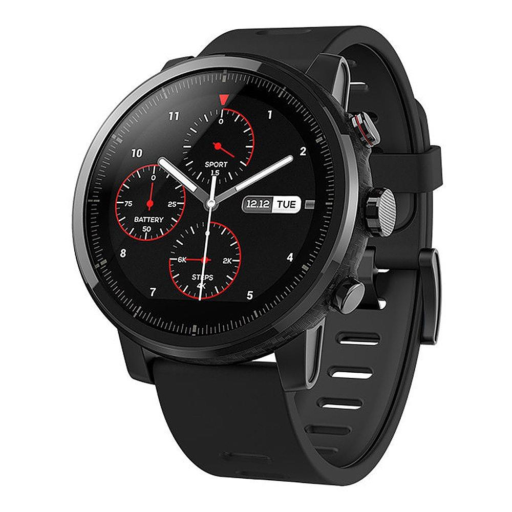 English Version Huami Amazfit Stratos Smart Sports Watch 2 GPS 5ATM Water 1.34'' 2.5D Screen GPS Firstbeat Swimming Smartwatch