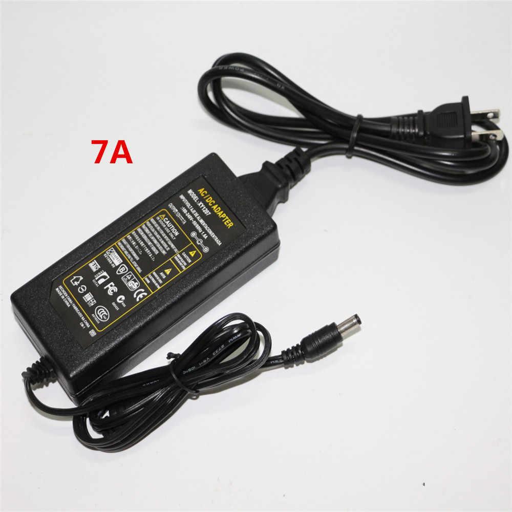 1 Stücke Echt EU/US/AU/Uk-stecker AC 100-240 V zu DC 12 V 1A 2A 3A 4A 5A 6A 7A 8A Schaltnetzteil Converter Adapter