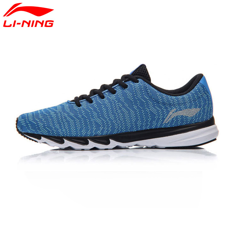 Li-Ning Mens 2017 BLAST Light Running Shoes Cushioning Breathable Textile Sneakers Comfort LiNing Sports Shoes ARBM115 Z083