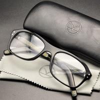 Kingsman Eyeglass Golden Circle Secret Service Kingsman Glasses Harry Eggsy Eyeglasses Top Acetate Frame British Style Eyewear