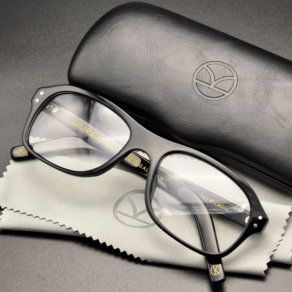 Kingsman Kingsman do Serviço Secreto de Óculos Círculo Dourado Óculos Harry com Ovos Óculos Top Acetato Quadro Óculos Estilo Britânico