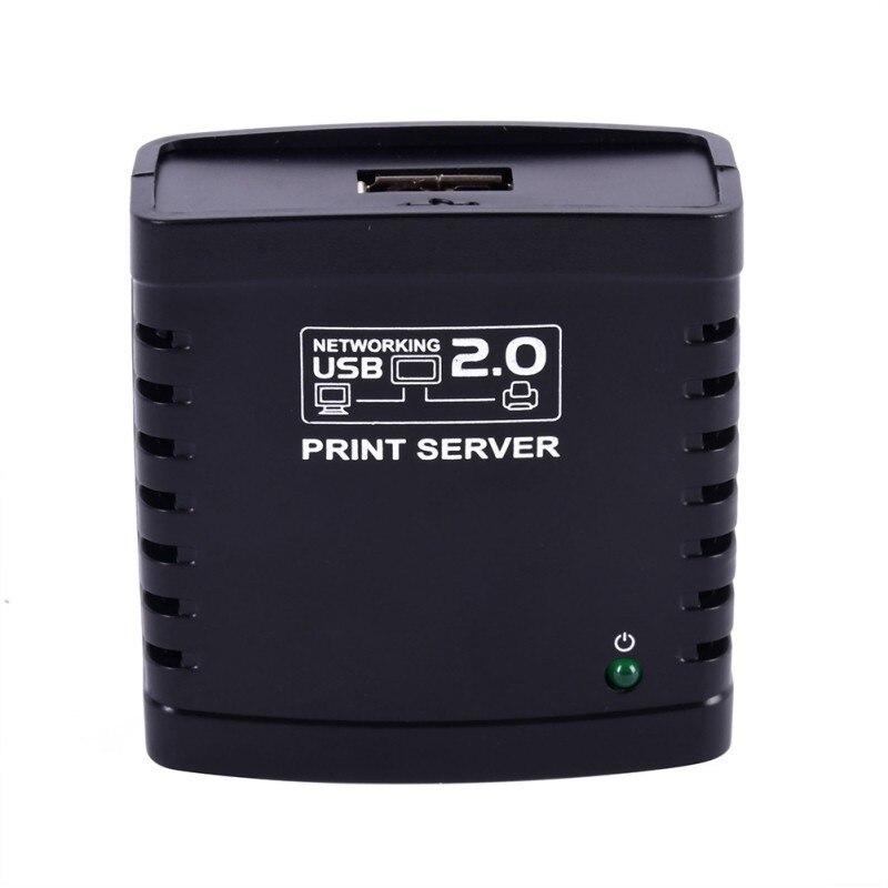 Image 5 - USB 2,0 LRP Сервер печати Поделиться LAN Ethernet сетевой принтер адаптер usb концентратор 100 Мбит сетевой сервер печати-in Серверы печати from Компьютер и офис