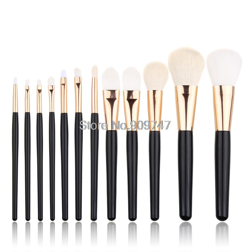 Hot Selling 12Pcs Blending Makeup Brush Kit Professional Cosmetic Goat Hair Brush Set Make up Brushes Tools beauty brush 32 pcs kit makeup brushes professional set cosmetic professional makeup brush set goat hair real makeup brushes brand techniques