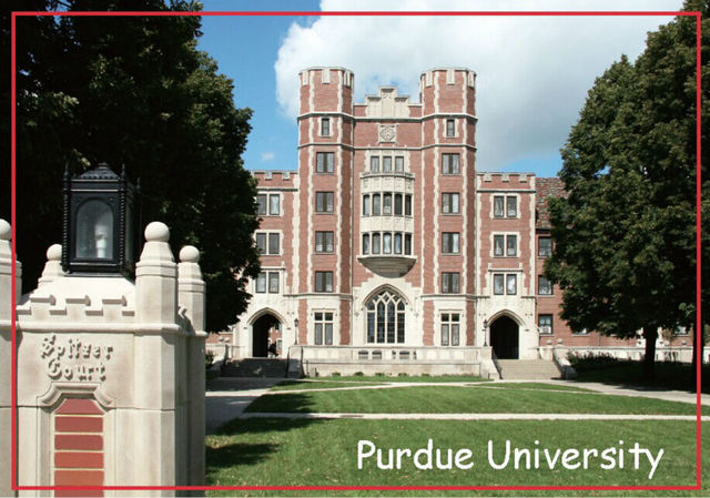 USA Travel Magnets Gifts 78*54mm Purdue University Memorabilia Decoration Fridge Magnet 20122 Great gift