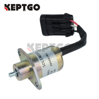 2848A281 12V Fuel Stop Solenoid For Perkins U Series