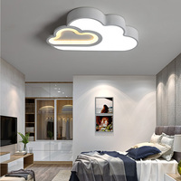 LICAN kids room Cloud Ceiling lighting children ceiling lamp Baby ceiling light with Dimming for boys girls bedroom Ceiling Lamp