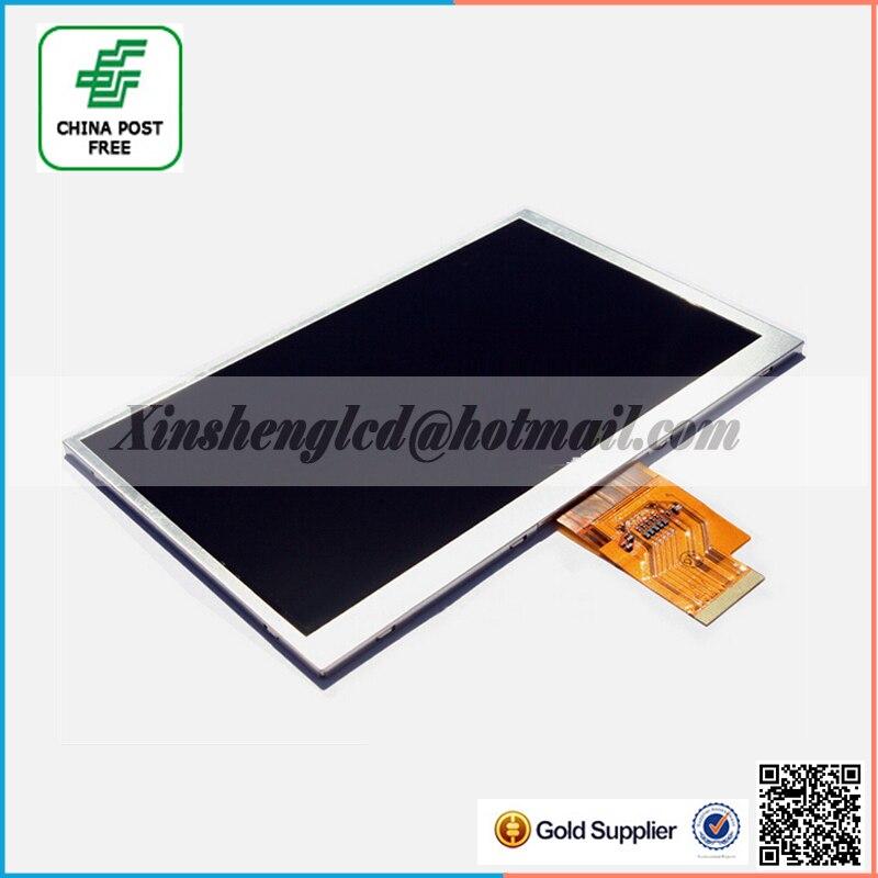 7 inch LCD Display Screen For AINOL NOVO7 Crystal Tablet PC EJ070NA AT070TNA2 V.1 1024*600 Free shipping
