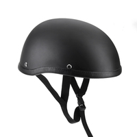 54 60CM Motorcycle Scooter Helmet Half Helmet Unisex Protection Helmet Black Capacete Half Shell Helm Matte