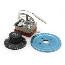 Переключатель термостата с циферблатом для электрической духовки переменного тока 220 В 16А 50-300C градусов# Y05# C05