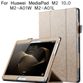Folding Stand For Huawei M2 10.0 Case Tablet Pc Cover For Huawei Mediapad M2 10.0 M2-a01w M2-a01l Case + Screen Protector