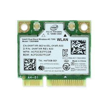 Абсолютно новая для Intel 7260 Intel7260 7260AC 7260HMW 2,4 & 5G 867M Bluetooth 4,0 Mini PCIe WiFi беспроводная сетевая карта >> IdeaTrust Technology Solutions