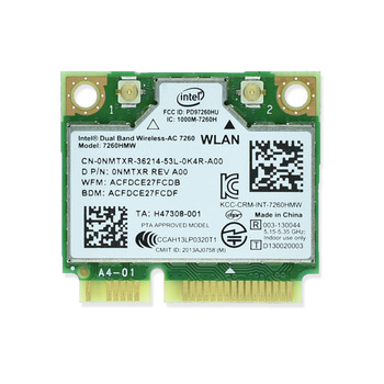 Новый бренд для Intel 7260 Intel7260 7260AC 7260HMW 2,4 и 5G 867 M Bluetooth 4,0 Mini PCIe WiFi беспроводная сетевая карта >> IdeaTrust Technology Solutions