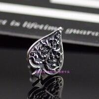 Authentic GV Tree Spades 925 Sterling Silver Earrings Thai Silver Earrings 1 Pair