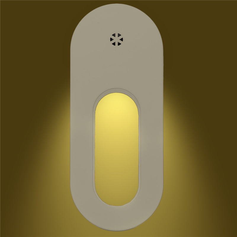 Lights & Lighting Claite 2pcs Led Light Sensor Control Night Light Energy Saving Wall Lamp Kid Novelty Oval Bedroom Bedside Lamp Ac100-240v