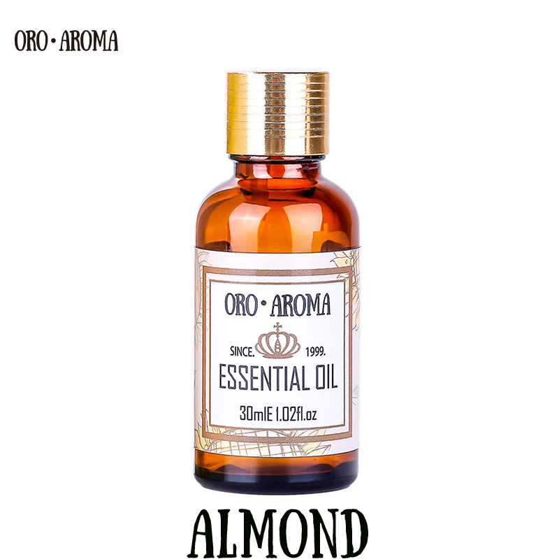 Famous brand oroaroma natural almond Essential Oil care hair Eliminate the corner of the eye wrinkles Skin smooth almond oil famous brand oroaroma castor oil natural aromatherapy high capacity skin body care massage spa castor essential oil