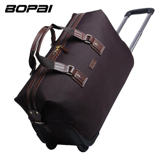 9cc023b22b Brand High Quality Waterproof Nylon Travel Bag Female Unisex Men s Travel  Bags for Business Women Duffle
