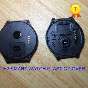 Image 2 - מקורי h2 smartwatch שעוני יד smart watch שעה שעון שעון פלסטיק blackcover שחור כיסוי מקרה רצועת חגורת עבור h2 החכם