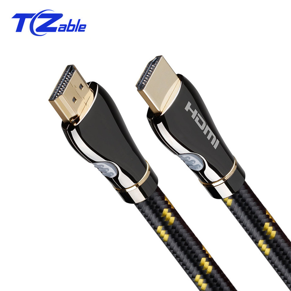 HDMI Cable 2 0 Male To Male 4K 3D Support HDR HD Adapter Cable For PS4 Projector Computer Gold Plated Plug Audio Video Cables in HDMI Cables from Consumer Electronics