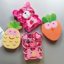 Cartoon Bracelet Bangle Girls Colorful Plastic Charm Magic Animal Bracelets Deformation Creative Beads DIY Toy For Children Gift