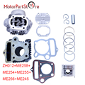 Nuevo cilindro motor motor rebulid kit para honda z50 z50r xr50 crf50 50cc bici de la suciedad