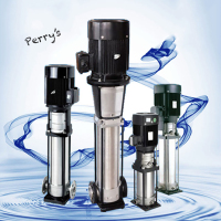 DL1 Light Electrical Vertical Multi stage Stainless Steel Centrifugal Pump Pressure Test Pump