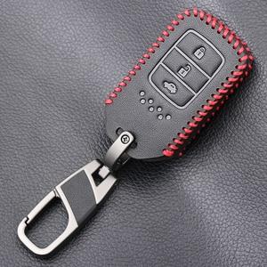 Image 4 - Anahtar şekli 3 düğme araba anahtarı durum kapak için Honda Accord 9 Crider şehir 2015 2016 HRV CRV Vezel spirior Odyssey Civic Fit yeşim