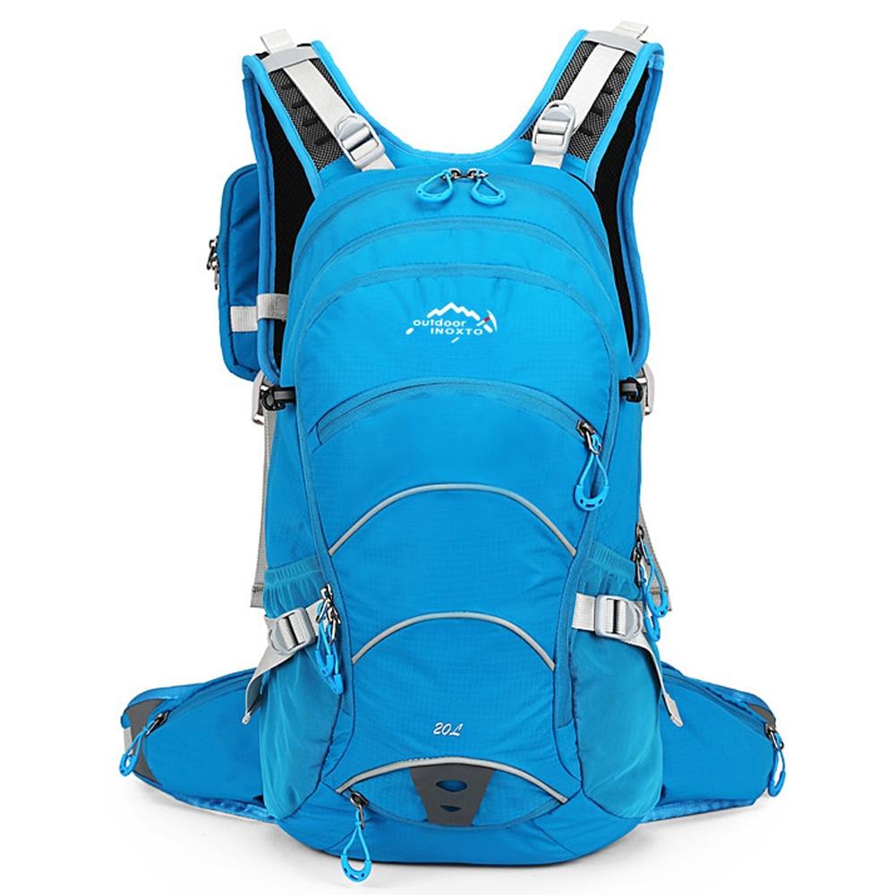 1Pcs 20L Sport Cycling Backpack Man Nylon Water Bladder Rucksacks Outdoor Pack Bicycle Bag Knapsack Woman Ride Running Bag