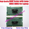 High Quality RAM Tester With Lamp, Memory Slot Card For DDR2 & DDR3, For Laptop