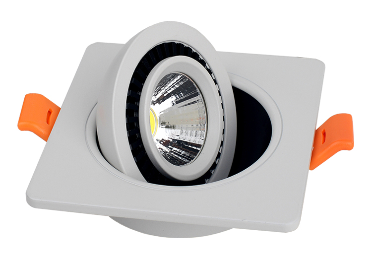 50PCS LOT 5W Dimmable LED Downlight LED Ceiling Lamps Indoor House Lighting AC110V AC220V AC240V Factory