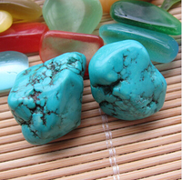 Wholesale Colored Turquoise Ore Stone Decoration Stone Lucky Eternal