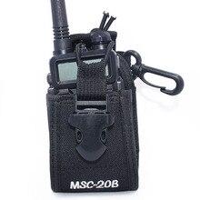 MSC 20B Nylon Multi functional Portable Radio Case Holder Holster for BaoFeng UV 5R BF 888S UV 82 GT 3 Walkie Talkies Ham Radio