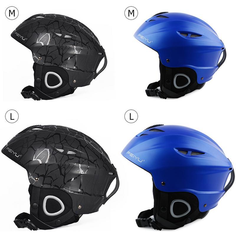 Children Adult Ski Helmet Ultralight Breathable Riding Skateboard Protected Helmet Outdoor Sports Cycling Protected Helmet Rich In Poetic And Pictorial Splendor Skiing & Snowboarding Ski Helmets
