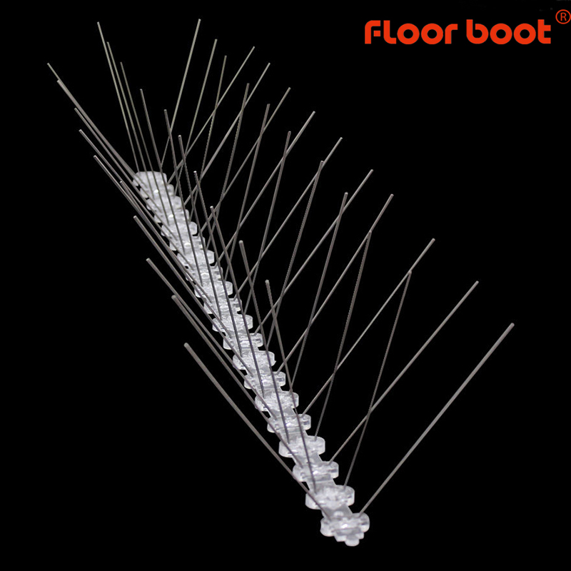 Floor Boot Bird Repeller Spikes /scarers Pigeons Anti/reject Bird Control Anti/stainless Steel Bird Spikes/scarer Plastic 1m-8mj