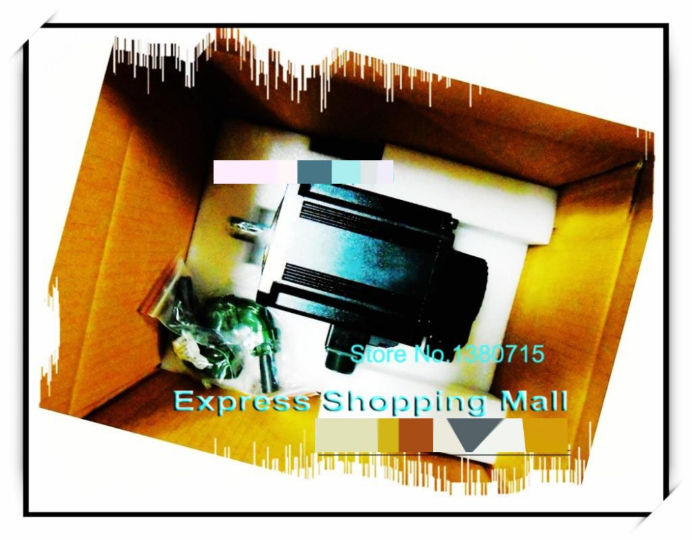 New Original ECMA-E21320SS 220V 2KW 9.55NM 2000rpm 130mm AC Servo Motor with oil seal brake  цена и фото
