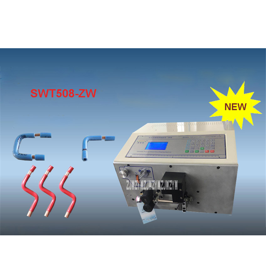 New SWT508-ZW Multifunctional Automatic Computer Bending Machine/Cutting Machine 110V/220V 650W 2000-3000 Pieces / Hour 1-16mm2