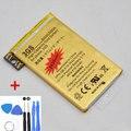Original de alta capacidade ouro 2430 mah bateria de substituição para o iphone 3gs carregador baterias + 7 in1 ferramentas de reparo frete grátis