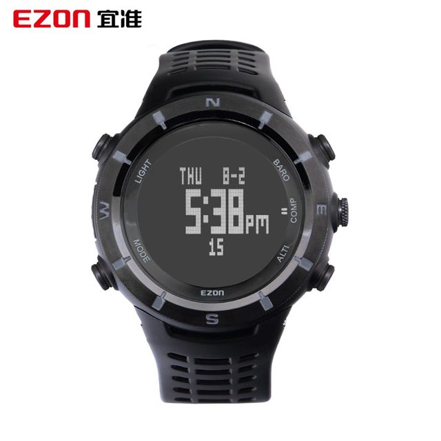 EZON Should Watch Prospective Multi-Functional Sports Watch Outdoor Climbing Temperature Compass Climbing The Table Height  H001