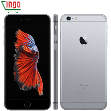 Phones Telecommunications - Mobile Phones - Original Unlocked Apple IPhone 6s Plus 2GB RAM 16/32/64/128GB ROM Cell Phone IOS 9 A9 Dual Core 12MP Camera 5.5' IPS LTE Phone