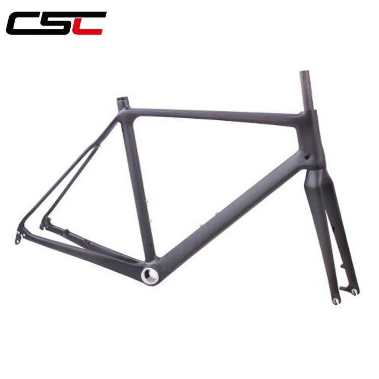 Carbon Di2 Bike Cyclocross Frame 12x100mm 15x100mm 12x142mm thru axle Disc brake Bicycle Road Frameset 51