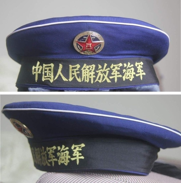 newest d8737 2f8a8 PLA NAVY M85 SAILOR HAT CAP CHINA uniform military udssr soviet chinese army