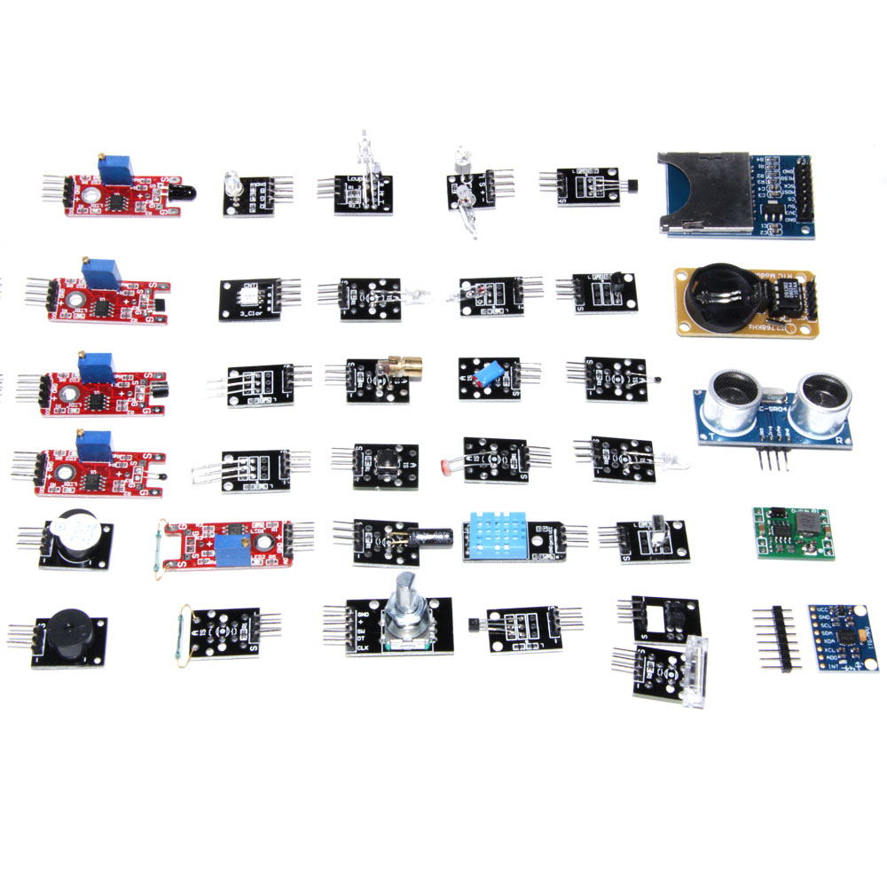 45 in 1 Sensors Modules Starter Kit For arduino, better than 37in1 sensor kit 37 in 1 Sensor Kit pepe jeans платье pepe jeans pl951690 0aa