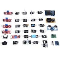 Free Shipping 45 In 1 Sensors Modules Starter Kit For Arduino Better Than 37in1 Sensor Kit